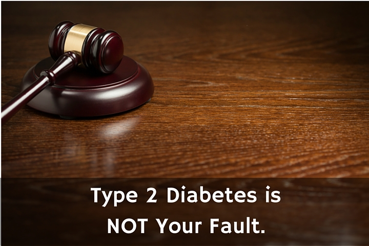 diabetes guilt - not your fault