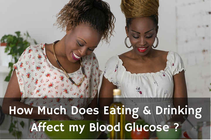 type 2 diabetes alcohol and eating